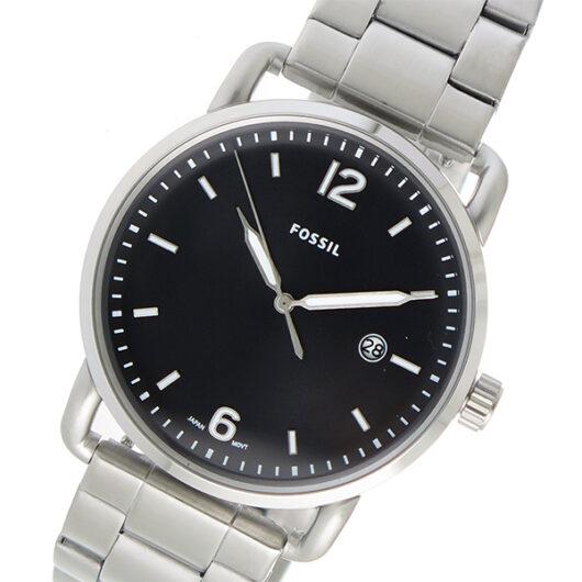 フォッシル FOSSIL  クオーツ メンズ 腕時計 FS5391 ブラック ブラック