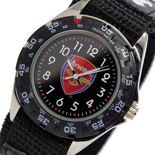 フットボールウォッチ アーセナル クオーツ メンズ 腕時計 GA3713 ブラック ブラック