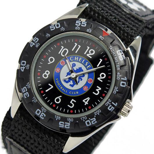 フットボールウォッチ チェルシー クオーツ メンズ 腕時計 GA3728 ブラック ブラック