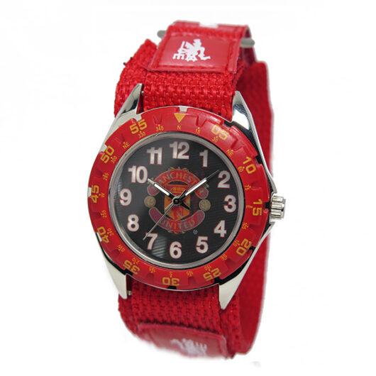 フットボールウォッチ マンチェスターユナイテッド クオーツ メンズ 腕時計 GA4415 ブラック