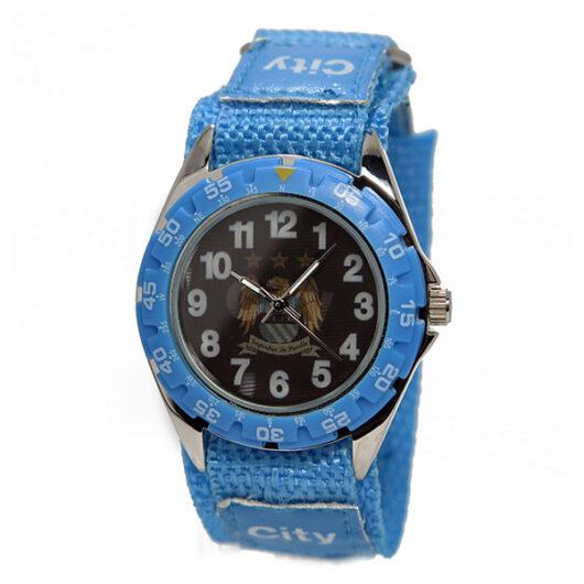 フットボールウォッチ マンチェスターシティ クオーツ メンズ 腕時計 GA4419 ブラック