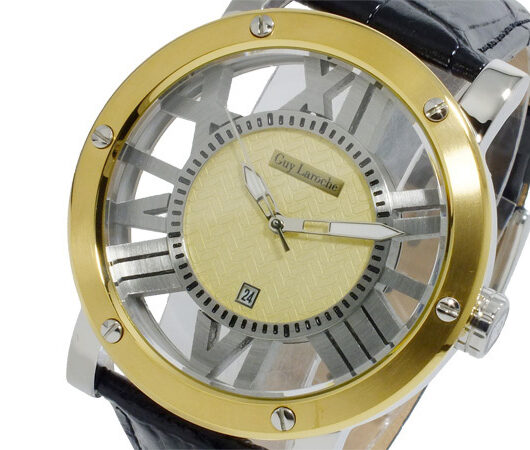 ギ・ラロッシュ Guy Laroche クオーツ メンズ 腕時計 GS1401-03 ゴールド