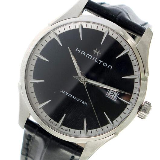 ハミルトン HAMILTON ジャズマスター クオーツ 腕時計 H32451731 ブラック