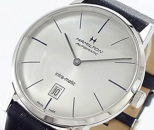 ハミルトン HAMILTON イントラマティック 自動巻き 腕時計 H38455751 シルバー シルバー