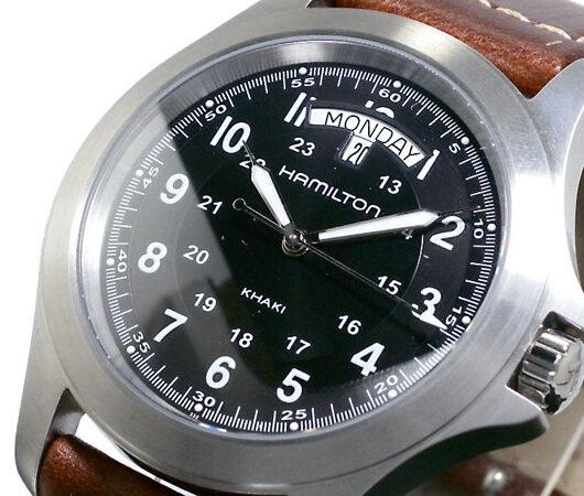 ハミルトン HAMILTON カーキキング 腕時計 H64451533 ブラック