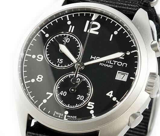 ハミルトン HAMILTON カーキ パイロット 腕時計 H76552433 ブラック