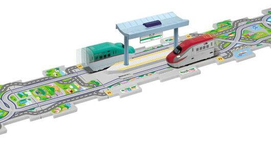 4979092016250 パネルワールド新幹線ストップ&ゴー E5系はやぶさ・E6系こまちセット