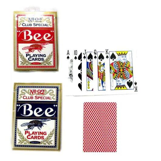 0073854000922 ビー ポーカー 赤