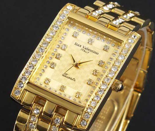 アイザック バレンチノ IZAX VALENTINO 腕時計 IVG-7000-4 ゴールド