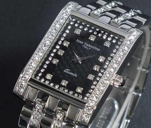 アイザック バレンチノ IZAX VALENTINO 腕時計 IVG-7000-6 ブラック