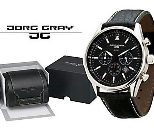 ヨーグ グレイ JORG GRAY シークレットサービス エディション 腕時計 JG6500 ブラック