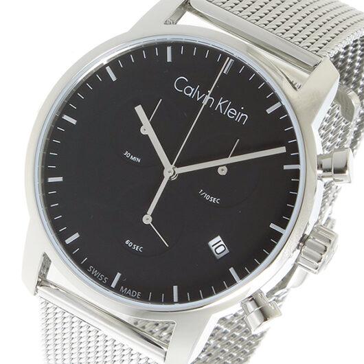 カルバン クライン CALVIN KLEIN クオーツ メンズ 腕時計 K2G27121 ブラック ブラック