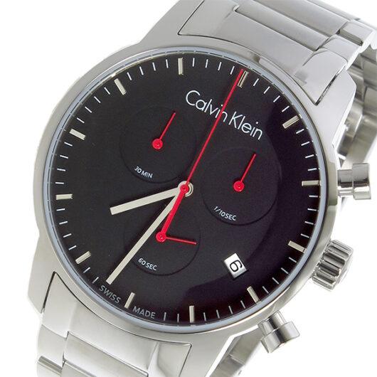 カルバン クライン CALVIN KLEIN クオーツ メンズ 腕時計 K2G27141 ブラック ブラック