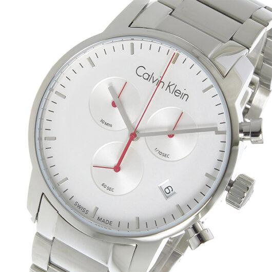 カルバン クライン CALVIN KLEIN クオーツ メンズ 腕時計 K2G271Z6 シルバー シルバー