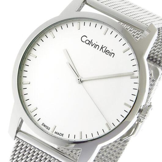 カルバン クライン CALVIN KLEIN クオーツ メンズ 腕時計 K2G2G126 シルバー シルバー