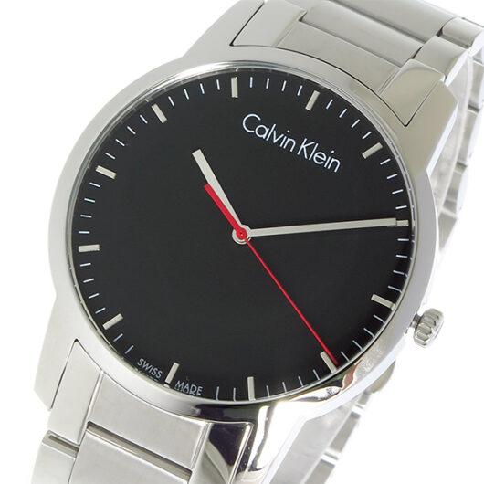 カルバン クライン CALVIN KLEIN クオーツ メンズ 腕時計 K2G2G141 ブラック ブラック