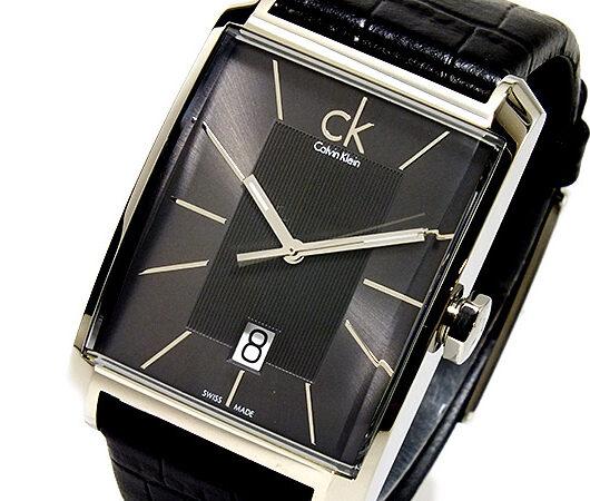 カルバン クライン Calvin Klein ウインドウ クオーツ メンズ 腕時計 K2M21107            ブラック