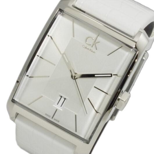 カルバン クライン CALVIN KLEIN ウィンドウ クオーツ メンズ 腕時計 K2M211.20 シルバー