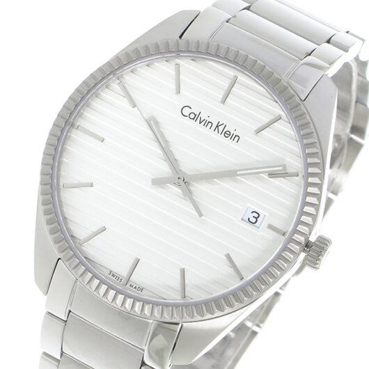 カルバン クライン CALVIN KLEIN クオーツ メンズ 腕時計 K5R31146 ホワイト ホワイト