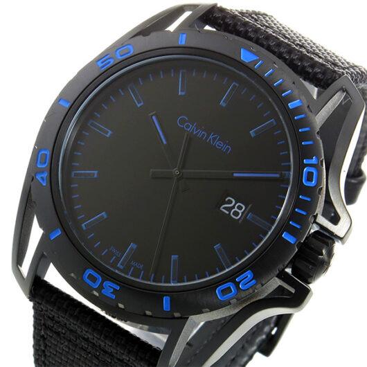 カルバン クライン CALVIN KLEIN クオーツ メンズ 腕時計 K5Y31YB1 ブラック/ブルー ブラック