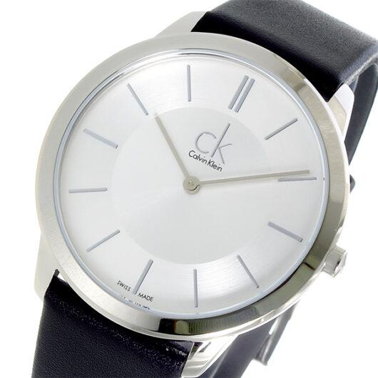 カルバン クライン CALVIN KLEIN クオーツ メンズ 腕時計 K7B211C6 シルバー シルバー
