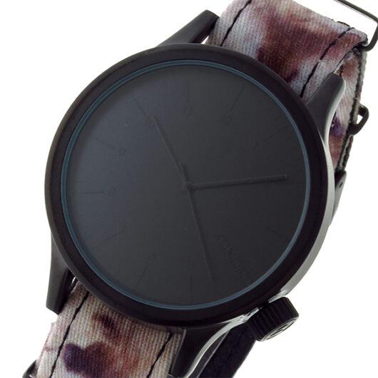 コモノ KOMONO Magnus Print-Walves クオーツ メンズ 腕時計 KOM-W1918 ブラック ブラック