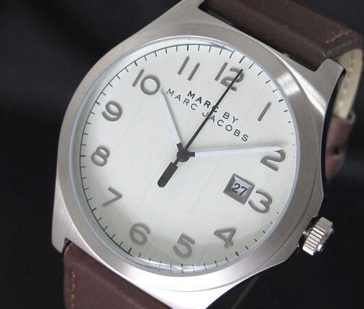 マークバイ マークジェイコブス MARC BY MARC JACOBS 腕時計 MBM5045 メンズ ホワイト
