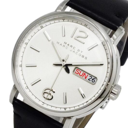 マークバイ マークジェイコブス ファーガス クオーツ メンズ 腕時計 MBM5076 ホワイト