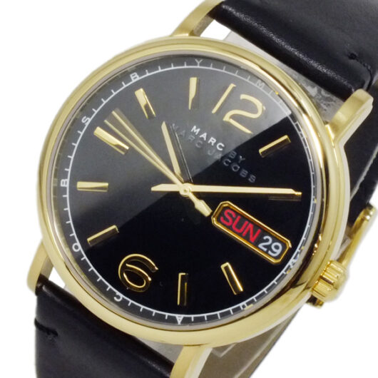 マークバイ マークジェイコブス ファーガス クオーツ メンズ 腕時計 MBM8651 ブラック