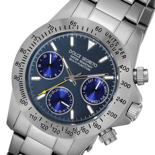 ドルチェ セグレート DOLCE SEGRETO クオーツ メンズ 腕時計 MCG100MB ブルー ブルー