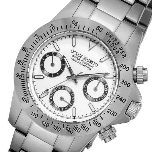 ドルチェ セグレート DOLCE SEGRETO クオーツ メンズ 腕時計 MCG100WH ホワイト ホワイト