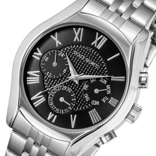 ドルチェ セグレート DOLCE SEGRETO クオーツ メンズ 腕時計 MEA100BK ブラック ブラック