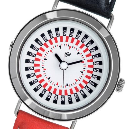 ピーオーエス POS ミスタージョーンズウォッチ The Decider クオーツ メンズ 腕時計 MJW020001 ホワイト ホワイト