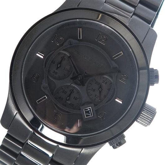 マイケルコース MICHAEL KORS クオーツ メンズ 腕時計 MK8157 ブラック ブラック