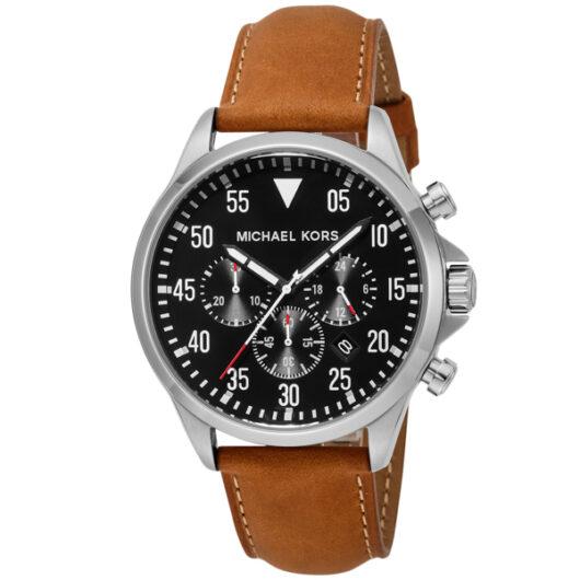 マイケル コース MICHAEL KORS GAGECHRONOGRAPH ゲージクロノグラフ メンズ 腕時計 MK8333 ブラック ブラック