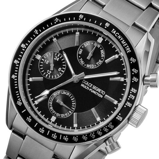 ドルチェ セグレート DOLCE SEGRETO クオーツ メンズ 腕時計 MSM101BK-BK ブラック ブラック