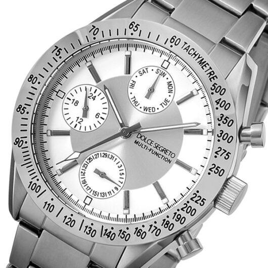 ドルチェ セグレート DOLCE SEGRETO クオーツ メンズ 腕時計 MSM101SV シルバー シルバー