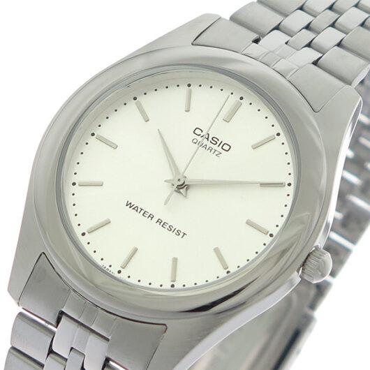 【希少逆輸入モデル】 カシオ CASIO  クオーツ メンズ 腕時計 MTP-1129A-7A シルバー/シルバー シルバー