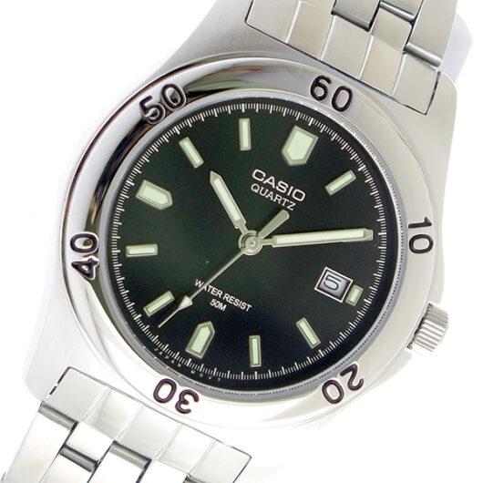 【希少逆輸入モデル】 カシオ CASIO クオーツ メンズ 腕時計 MTP-1213A-1AVDF ブラック ブラック