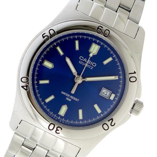 【希少逆輸入モデル】 カシオ CASIO クオーツ メンズ 腕時計 MTP-1213A-2AVDF ブルー ブルー