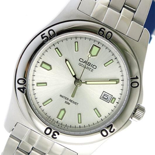 【希少逆輸入モデル】 カシオ CASIO クオーツ メンズ 腕時計 MTP-1213A-7AVDF シルバー シルバー