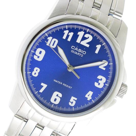 【希少逆輸入モデル】 カシオ CASIO クオーツ メンズ 腕時計 MTP-1216A-2BDF ブルー ブルー