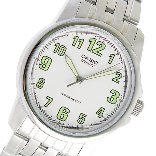 【希少逆輸入モデル】 カシオ CASIO クオーツ メンズ 腕時計 MTP-1216A-7BDF ホワイト ホワイト