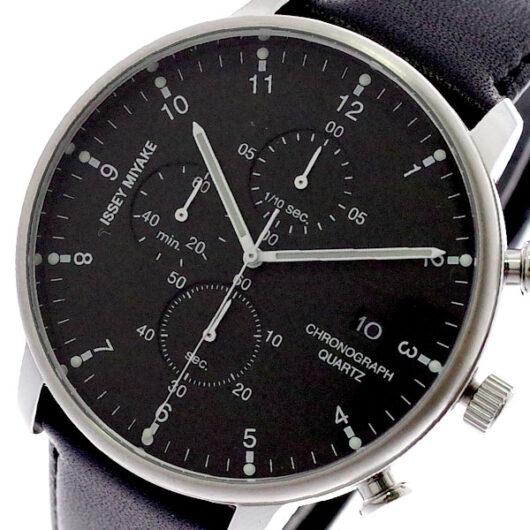 イッセイミヤケ ISSEY MIYAKE 腕時計 メンズ NYAD003 C シー クォーツ ブラック ブラック