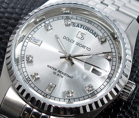 ドルチェセグレート DOLCE SEGRETO 腕時計 OP300SV グレー