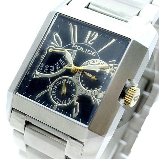 ポリス POLICE 腕時計 メンズ PL.10966MS/02MA サイドアベニュー SIDE AVENUE クォーツ ブラック シルバー