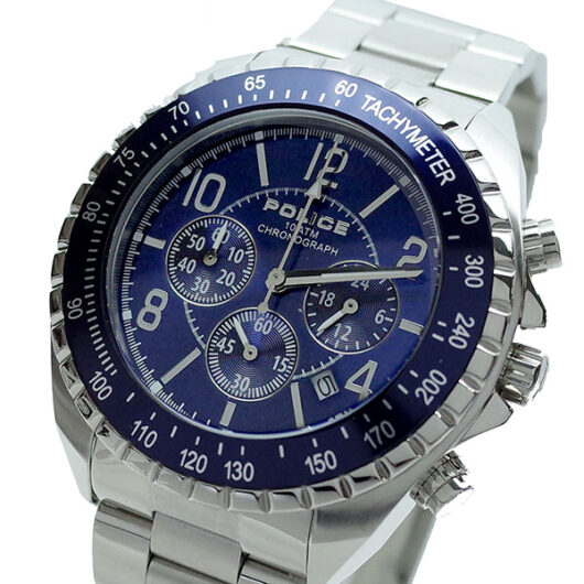 ポリス POLICE 腕時計 メンズ PL.12545JS/03M ニューネイビー NEW NAVY クォーツ ブルー シルバー