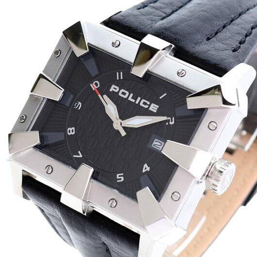 ポリス POLICE 腕時計 メンズ PL.13400JS/02 ディフェンダー DEFENDER クォーツ ブラック