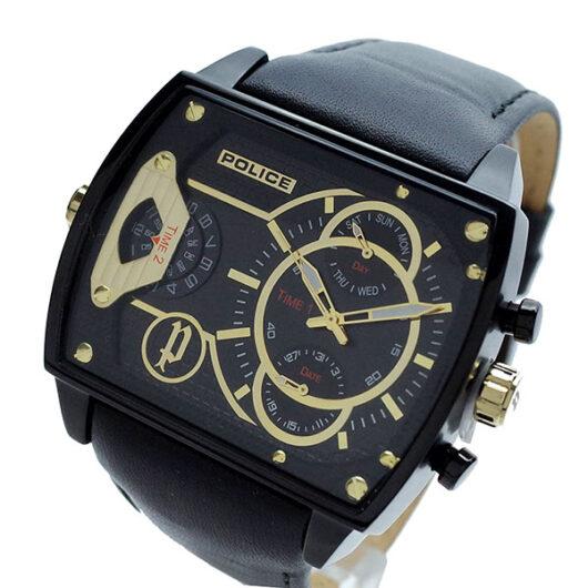 ポリス POLICE 腕時計 メンズ PL.14698JSB/02 スコーピオン SCORPION クォーツ ブラック