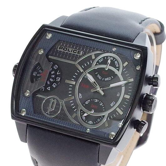 ポリス POLICE 腕時計 メンズ PL.14698JSB/13A スコーピオン SCORPION クォーツ ブラック